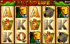 Slot machine the wild life gratis